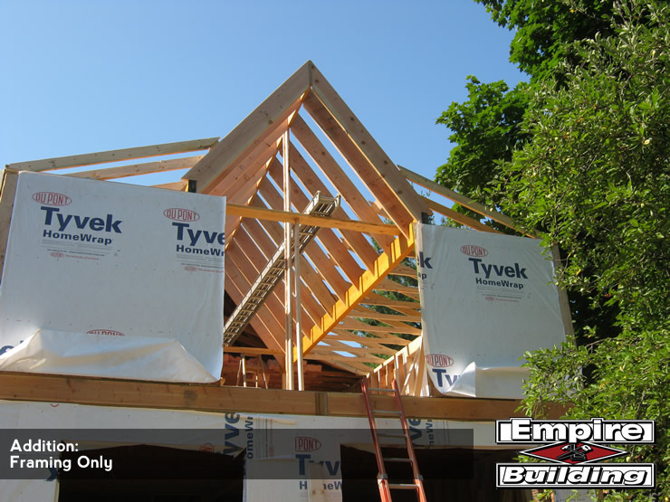 Home Addition Framing