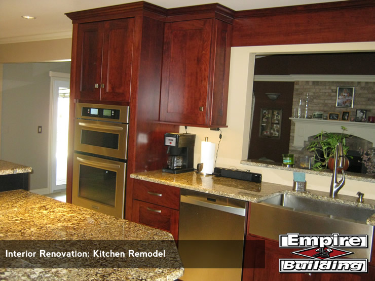 Kitchen Remodel - Interior Renovation