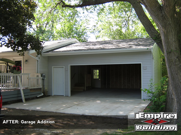 garage addition builder